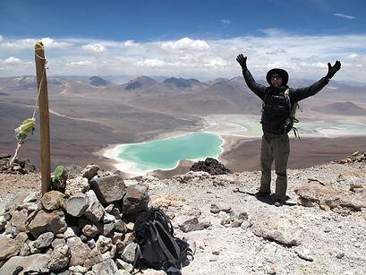 volcanoes ascents in Bolivia - Licancabur