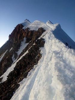 Final ridge - normal route