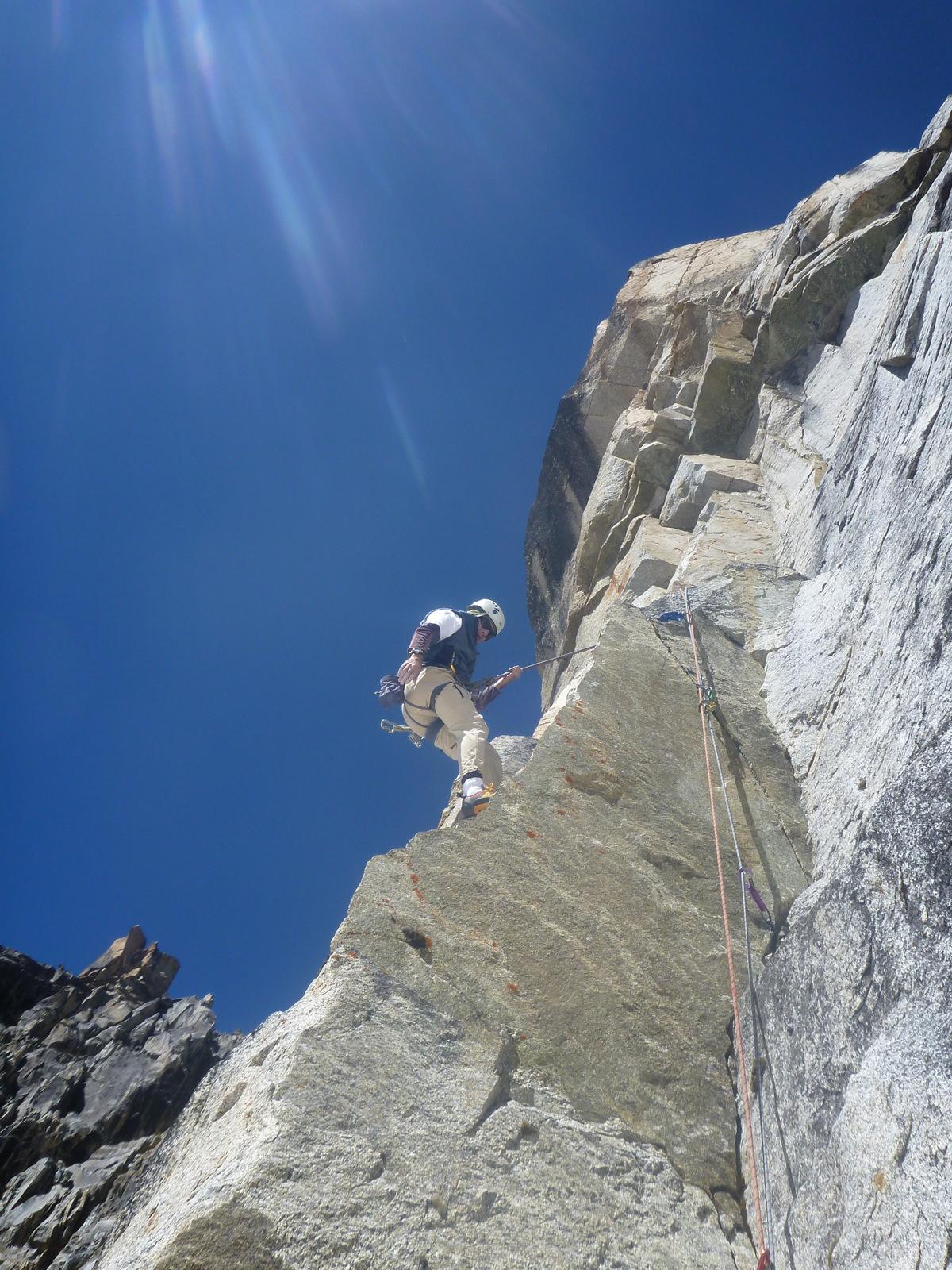 Granit & climber