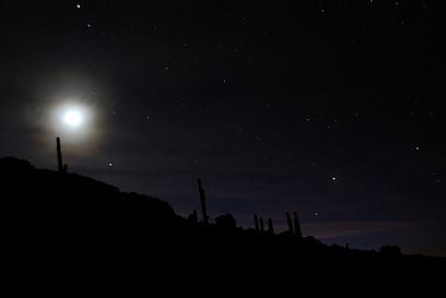 Astronomical tours in southern Bolivia
