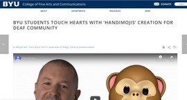 BYU College of Fine Arts and Communications