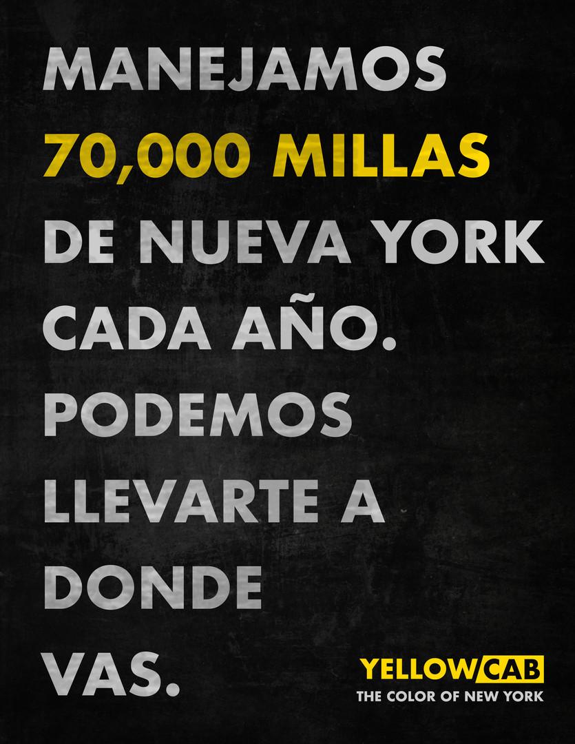70,000 Miles - Spanish