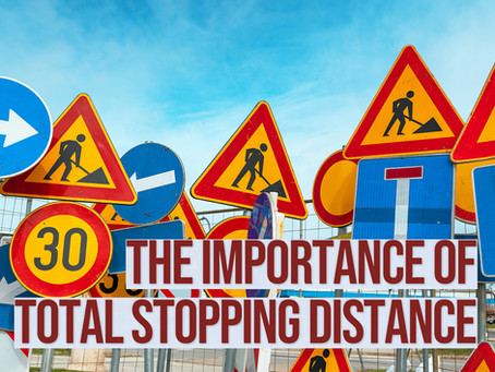 The Importance of Total Stopping Distance
