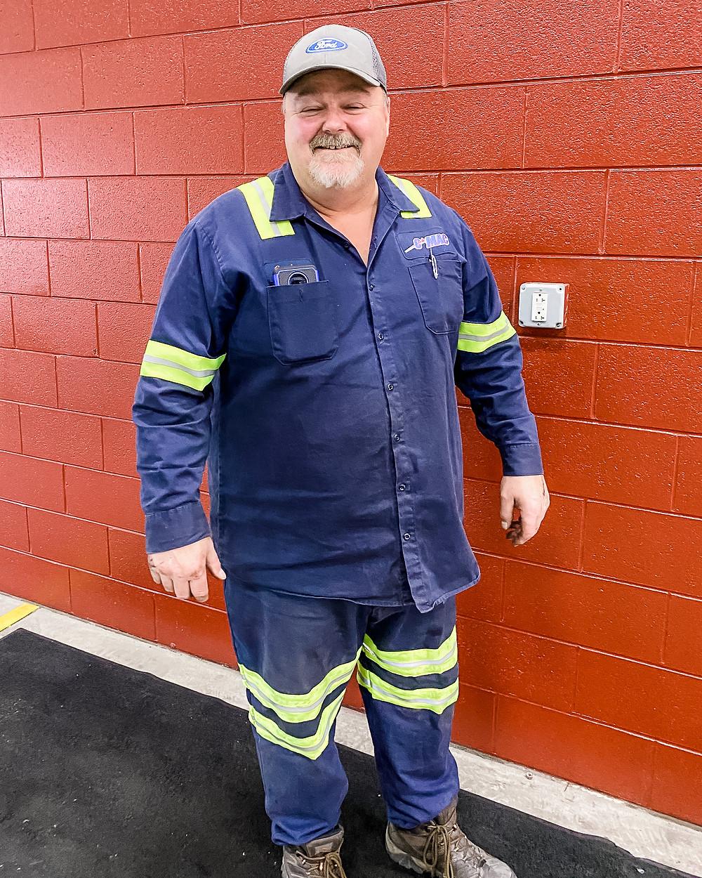 Gordan McCue - CMAC Supervisor, Certified Master Mechanic