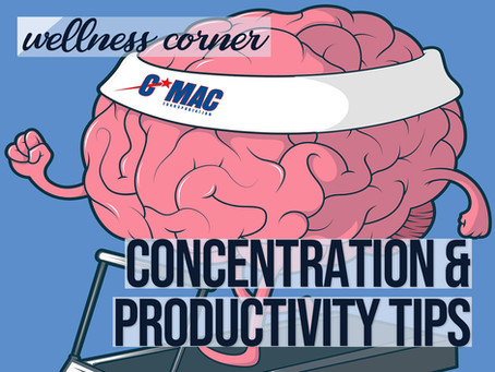 Wellness Corner - Productivity Tips
