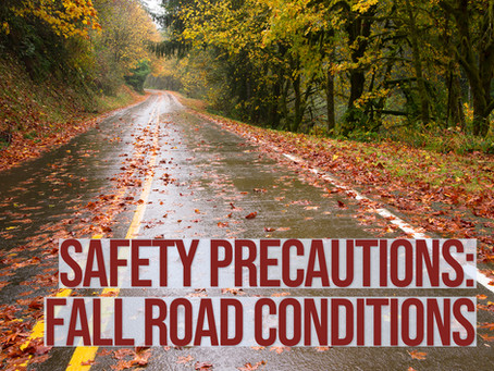 Safety Precautions for Fall Road Conditions