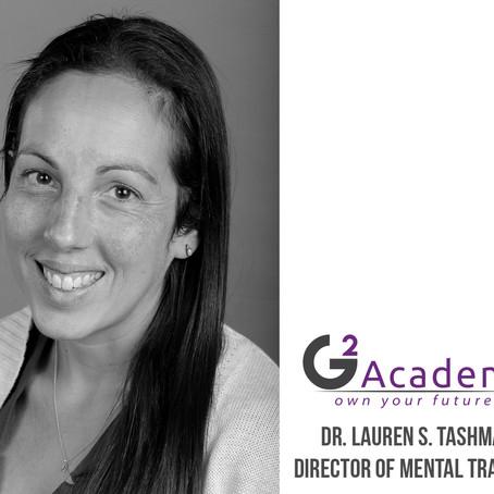 Lauren Tashman Joins the G2 Team