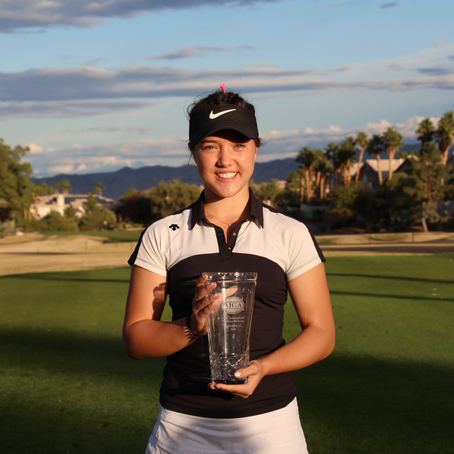 Ashley Chow wins first AJGA Title