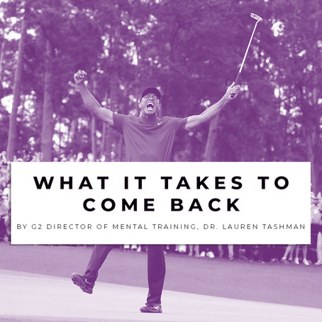 Tiger's Masters Comeback - What does it take?