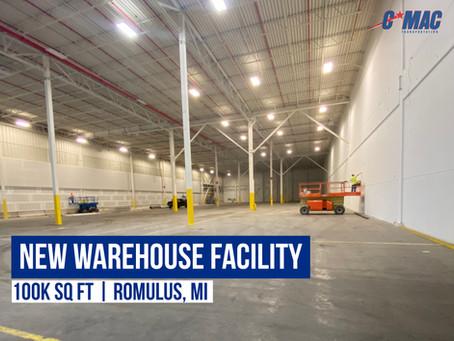 New Warehouse Facility - Romulus