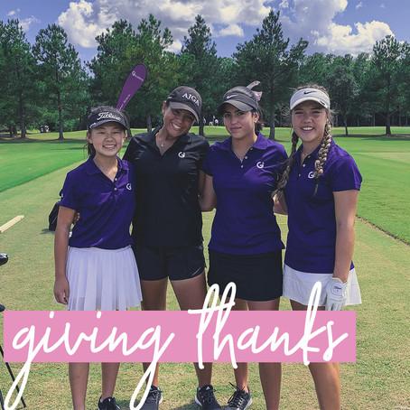 G2 Girls Giving Thanks