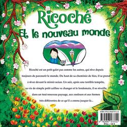 """Livre : """"Ricoché et le nouveau monde""""."""