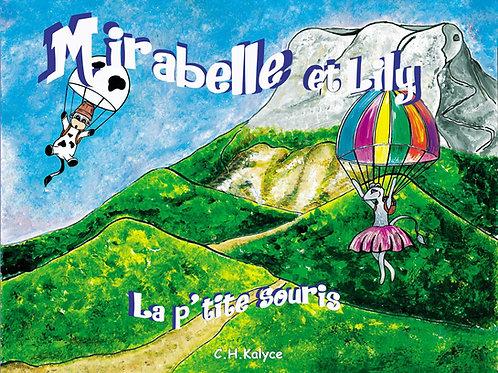 """Livre jeunesse """"Mirabelle et Lily la p'tite souris"""""""