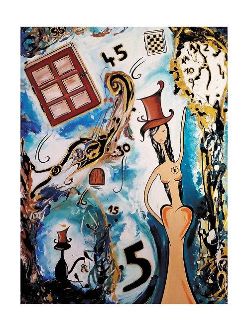 """Poster photo """" Alice et les clés du temps"""""""