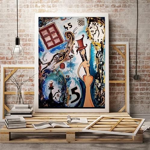 """Poster """"Alice et les clés du temps"""""""