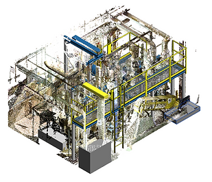 Point cloud image of Access Platforms with Integrated Motor Lift