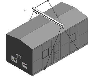 3D model of Natural Gas Skid