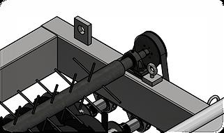 3D rendering of OSB mill Former