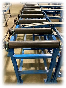 Part of finished conveying system