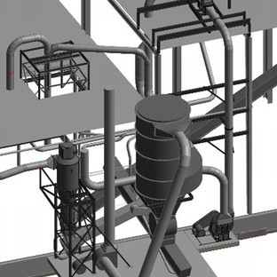 Air-Material-Seperation System