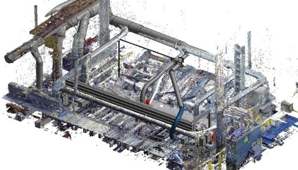 Point Cloud of a specific project