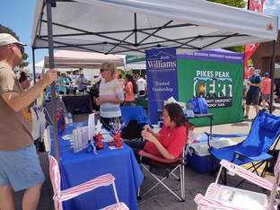 EPCRW Booth at the 4th of July Parade in Monumnet