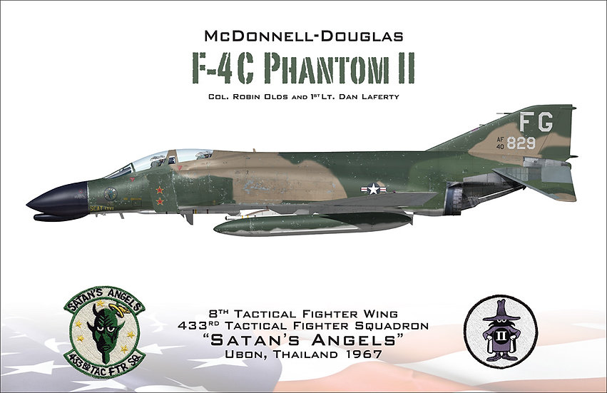 F-4 Phantom II - Robin Olds