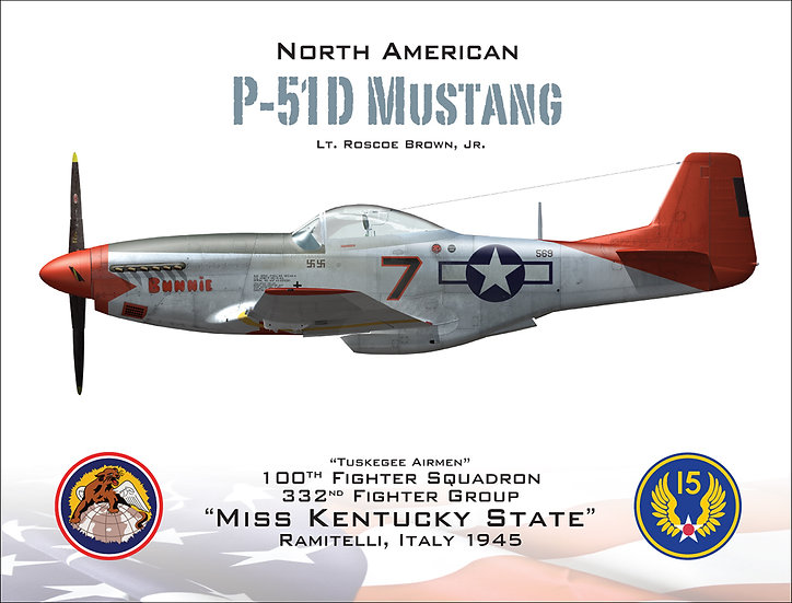 """P-51D Mustang """"Miss Kentucky State"""""""