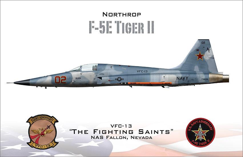 F-5 Tiger II - Fighting Saints