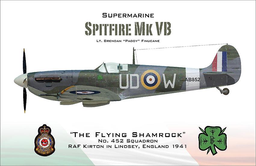 Spitfire - Paddy Finucane