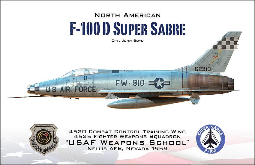 F-100 Super Sabre - John Boyd