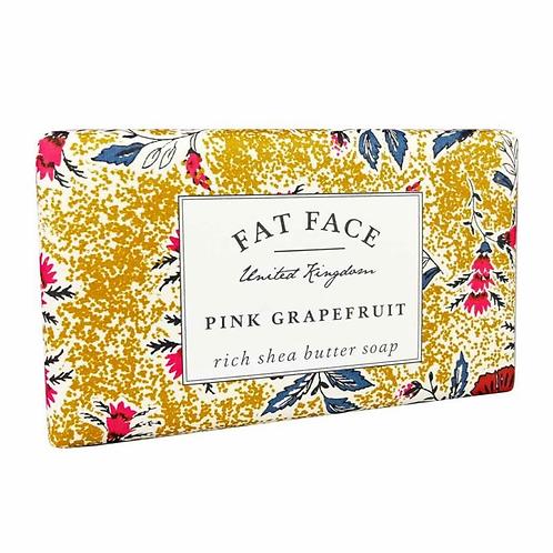 Pink Grapefruit Fat Face Soap