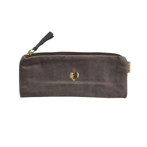 pouch/velvet/20x8,5cm