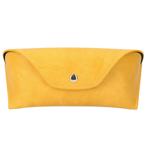 Gisela Graham Leather Effect Soft Glasses Case