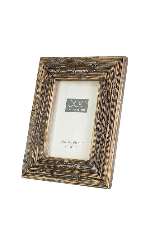 Shoeless Joe Rustic Driftwood Weathered wooden Photo Frame