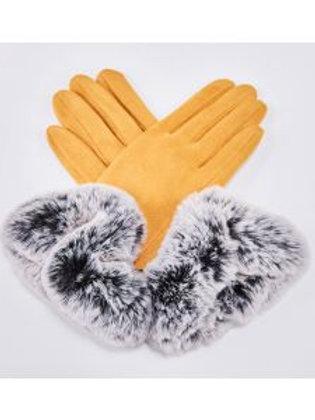 Arden Gloves Mustard