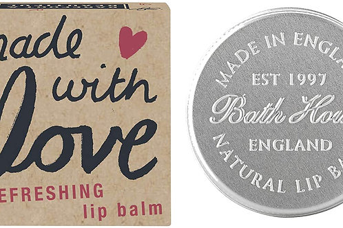 Barefoot and Beautiful 'Made With Love' Refreshing Citrus Lip Balm 15g