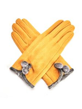 Betty Gloves Mustard