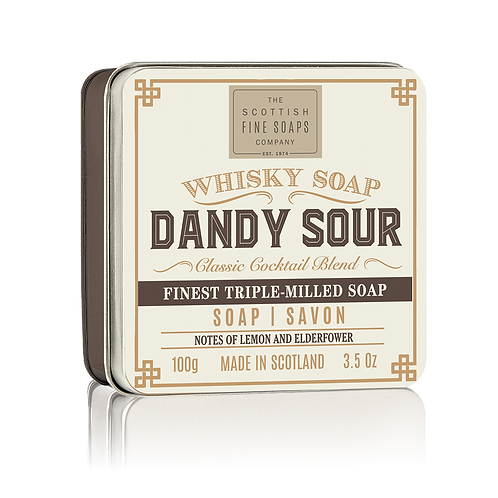 DANDY SOUR SOAP IN A TIN