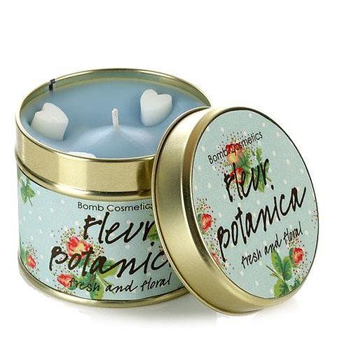 Fleur Botanica Tin Candle