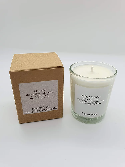 Relax Soy Wax Candle