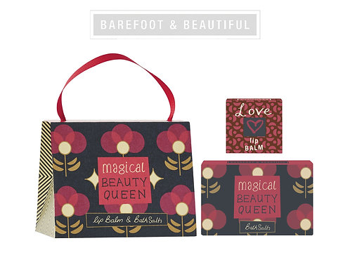 """Beauty Queen"" Handbag Gift Set"