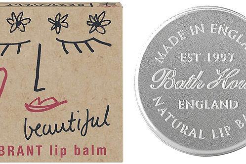 Barefoot and Beautiful 'Beautiful' Vibrant Sweet Orange Lip Balm 15g