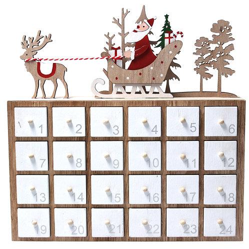 Gisela Graham Wooden Advent Calendar