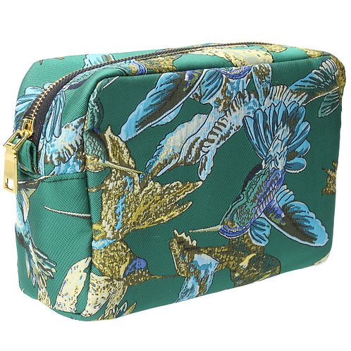 Gisela Graham Jacquard Cosmetic Pouch