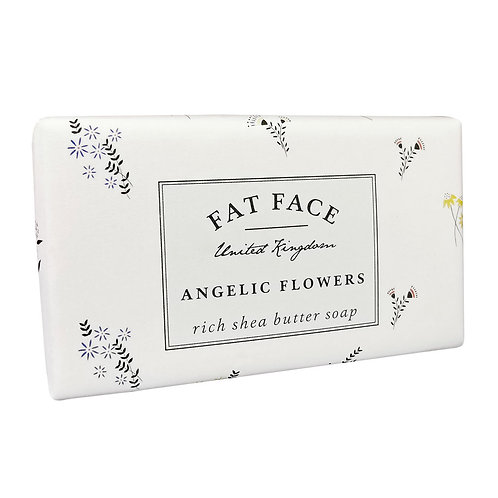 Angelic Flowers Fat Face Soap