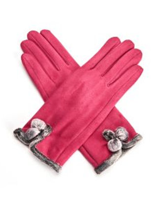 Betty Gloves Hot Pink
