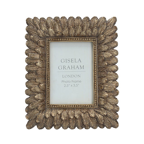 Gold Feather effect Photo Frame