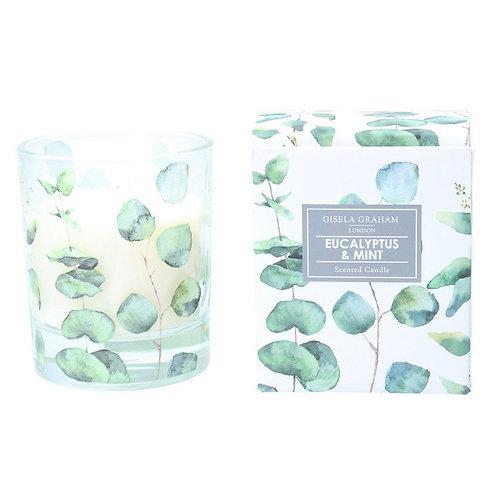 Gisela Graham Eucalyptus and Mint Candle
