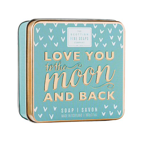 LOVE YOU TO THE MOON & BACK - SOAP IN A TIN